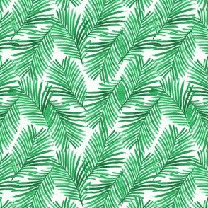 tiny palms tropical palm print summer tropic exotic summer green trendy palms