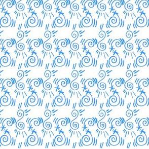 Doodle Yngve blue