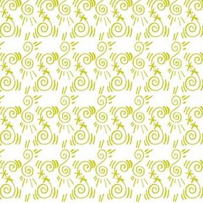 Doodle Yngve yellow