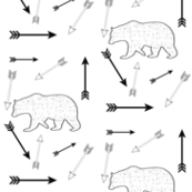Static bears and arrows