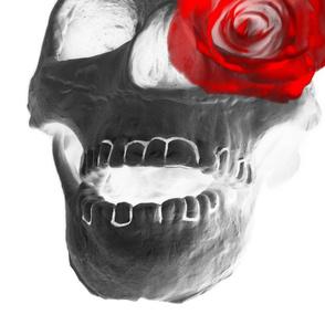Rose Eyed Skull