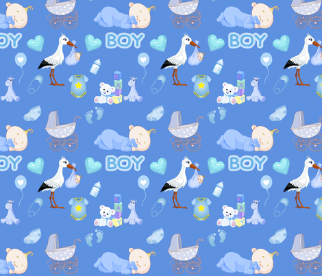 Its A Boy Wallpaper Designed By Floramoon