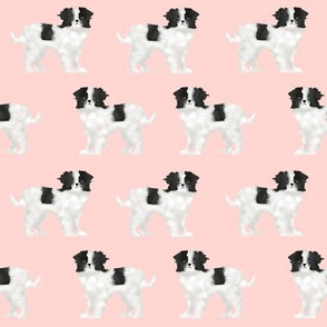 japanese chin dog pink baby kids fabric dog dog pets pet dog fabric