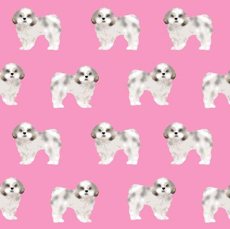 Shih Tzu Fabric Cute Pink Shih Tzu Dog Coat Sweet Dogs Pet Dog