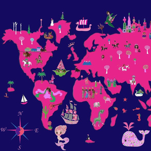 world in crayons