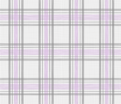 OhhhDeer! Tartan* Orchid fabric by juliesfabrics on Spoonflower - custom fabric
