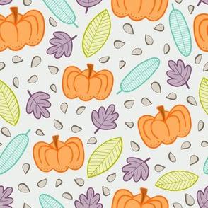 Pumpkins - grey