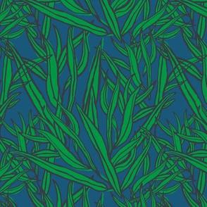 A willow: slate + shoal + kelly