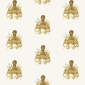 Custom Scale Glitter Octopus