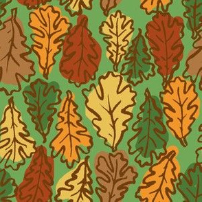 Oak Leaves  // Multicolored