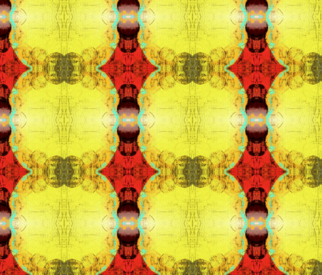 Golden SunsTouch fabric by cynsdaughter on Spoonflower - custom fabric