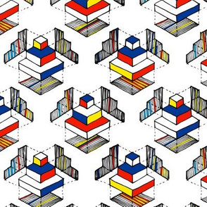 Geometry: Mondrian Colors