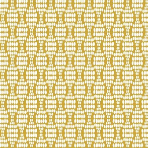 Dot waves in yellow