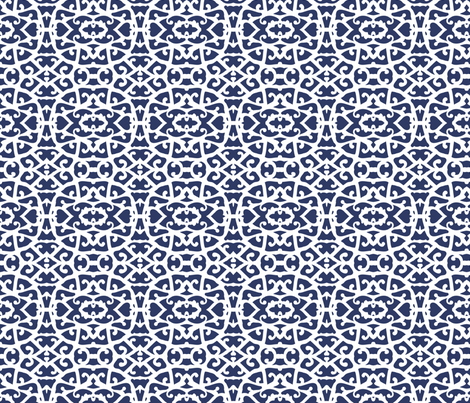 blue14 fabric by daria_rosen on Spoonflower - custom fabric