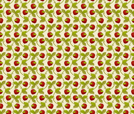 Once upon an Apple fabric by mia_valdez on Spoonflower - custom fabric