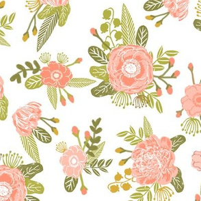 blush flowers floral flowers bloom blossoms blush peonies