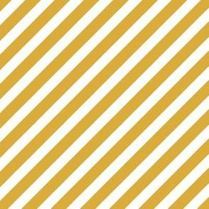 diagonal stripes yellow mustard girls coordinate