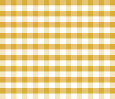 mustard gingham check tartan check mustard yellow checks fabric by charlottewinter on Spoonflower - custom fabric