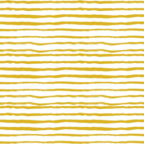 stripes mustard stripe hand-painted stripe baby nursery decor