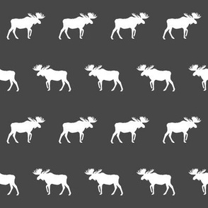 moose charcoal baby nursery decor fabric moose fabric