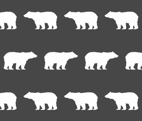 bear nursery fabric bear design bear nursery  fabric by charlottewinter on Spoonflower - custom fabric