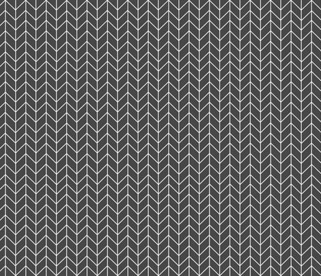 chevron charcoal nursery baby nursery fabric chevron fabric stripes chevrons fabric by charlottewinter on Spoonflower - custom fabric