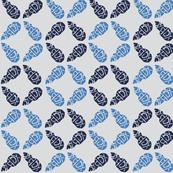 Buds Big - Summer Blue Mix