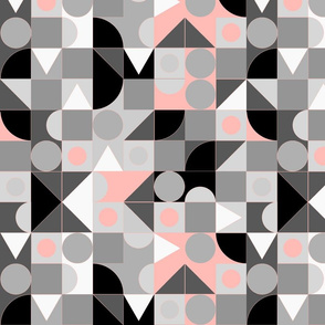 Geometrico nude