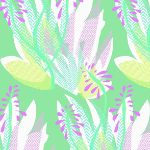 Pink Aloe Scatter
