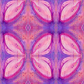 Pinks and Purples Abstracted Floral
