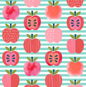 Pink Lady Apples - Mint Stripe