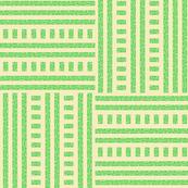 Buzz Weave - Apple Green & Vanilla