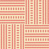 Buzz Weave - Flamingo Pink & Vanilla