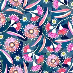 Flowering Gum - Midnight - Wallpaper