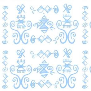 Doodle Quinn blue