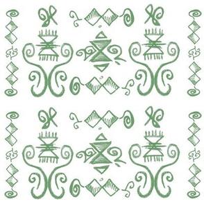 Doodle Quinn green