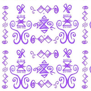 Doodle Quinn violet