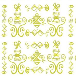 Doodle Quinn yellow