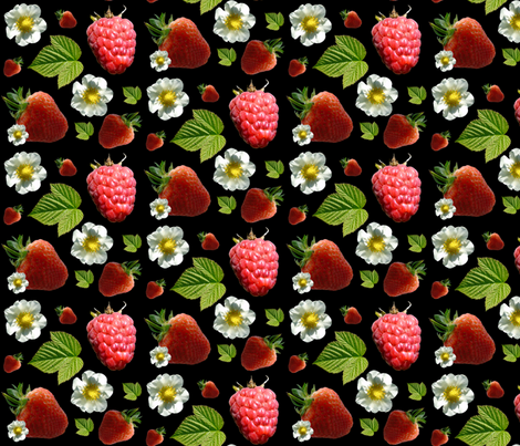 Fruit picking fabric by redthanet on Spoonflower - custom fabric