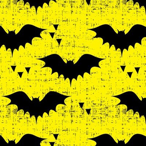 bats on yellow