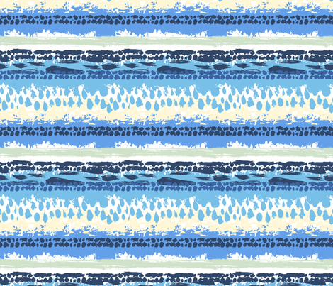 bohoblue14 fabric by daria_rosen on Spoonflower - custom fabric