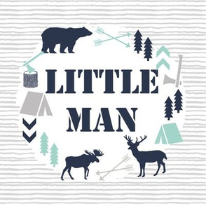 "little man 8"" swatch boys camping small swatch"