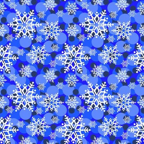 Snowflakes & spots