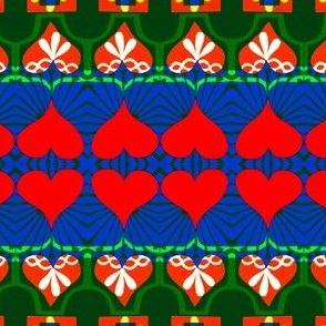 Lemko Folk Heart Signposts