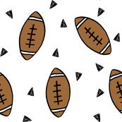 football // american football fabric kids sports fabric andrea lauren football print andrea lauren fabric