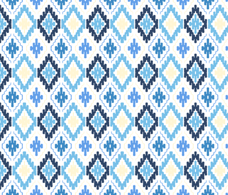bohoblue22 fabric by daria_rosen on Spoonflower - custom fabric