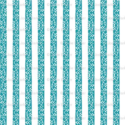 Buzz Stripe - Seaspray