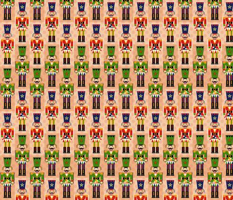 Nutcracker Toy March fabric by paula's_designs on Spoonflower - custom fabric