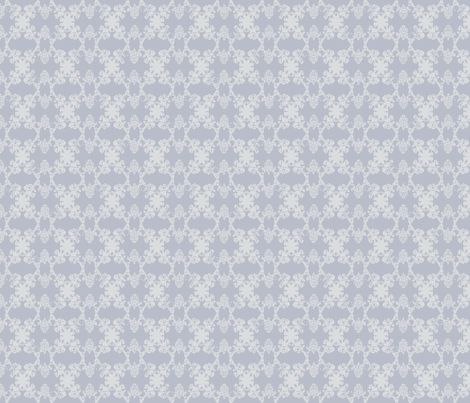 Daphne - Silver & Pale Grey fabric by jodiebarker on Spoonflower - custom fabric