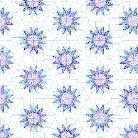 crystal_stars fabric by keweenawchris on Spoonflower - custom fabric